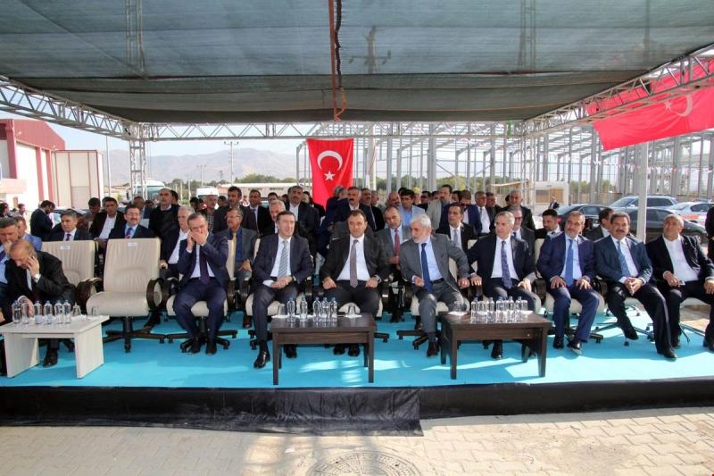 OSB'de 5. Kısım Altyapı Çalışmalarının Açılışı Yapıldı