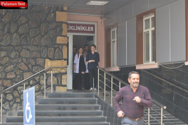 Palu Devlet Hastanesinde Yangın Tatbikatı