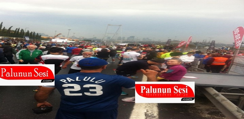 39.Vodafone Avrasya Maratonunda Bir Palulu