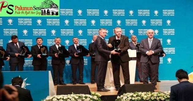 Cumhurbaşkanı Erdoğan'dan Elazığ'a Ödül