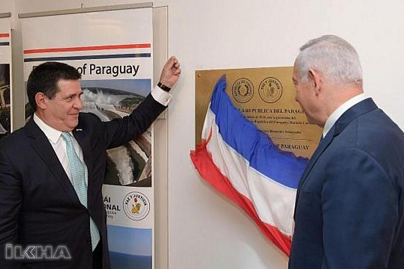 ABD ve Guatemala'nın ardından Paraguay da büyükelçiliğini Kudüs'e taşıdı