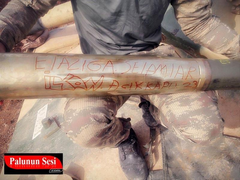 Afrin Operasyonundaki Palulu Askerimiz mesaj gönderdi.