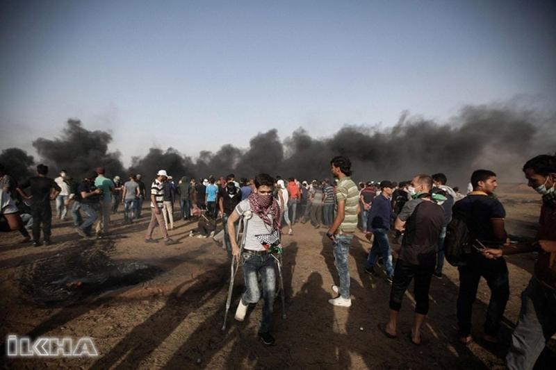 """""""Büyük Dönüş Yürüyüşü""""nün bilançosu: 112 şehit 13 bin yaralı"""