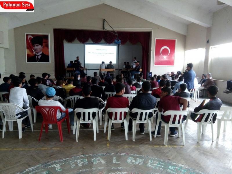 Cimşitbey Anadolu Meslek Lisesi Bilgi Yarışması Düzenledi