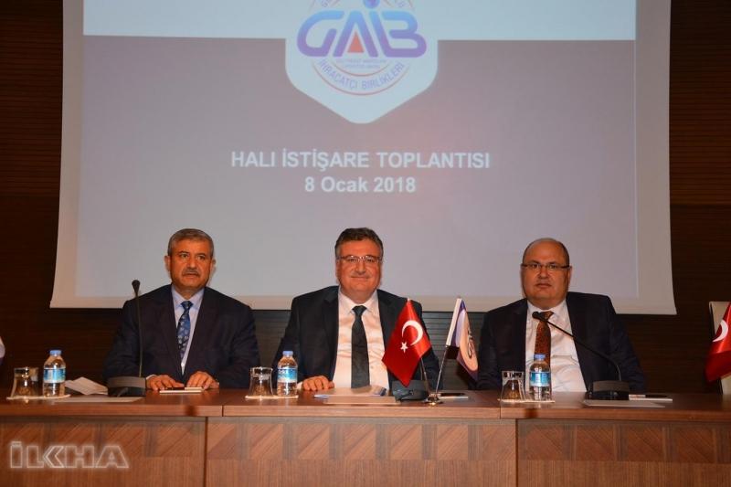 """""""Dünya halıyı Gaziantep'ten temin ediyor"""""""