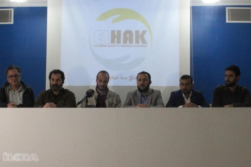Elazığ`da ELHAK Platforumundan Andımız Kararına Tepki