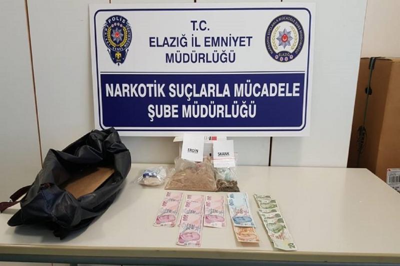 Elazığ`da Şimşek Uyuşturucuya Geçit Vermedi