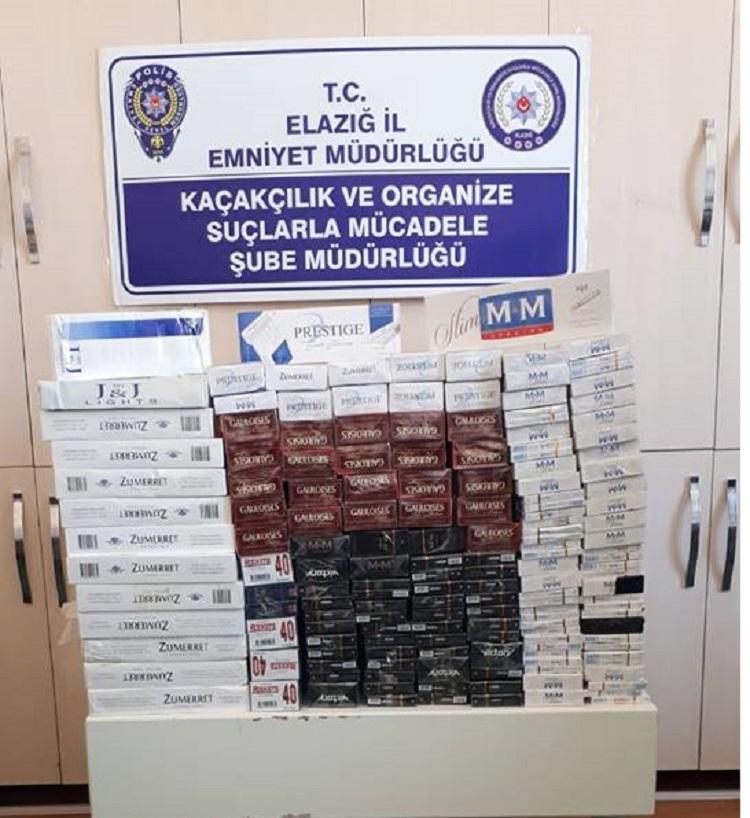 Elazığ`da Tütüncülere Operasyon