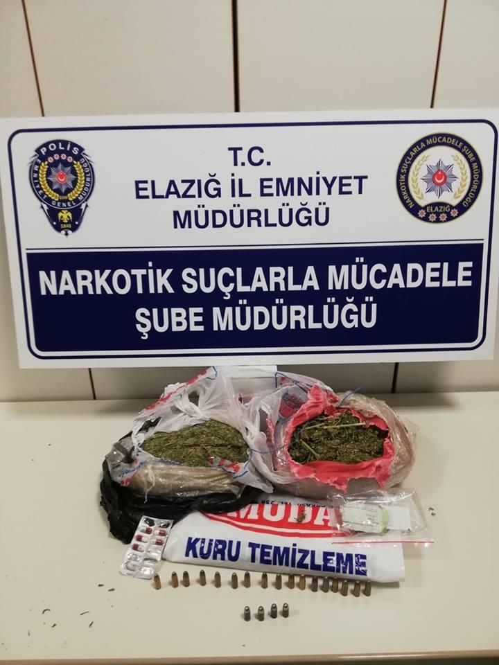 Elazığ`da Uyuşturucu Operasyonu: 1 Gözaltı