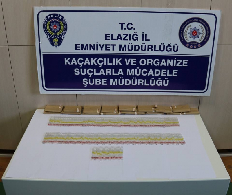Elazığ`da Yılan Zehiri Operasyonu : 2 Gözaltı