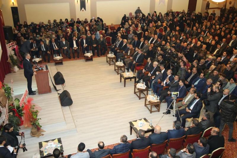 Erbakan Vakfı Genel Başkanı Dr. Fatih Erbakan Elazığ`da
