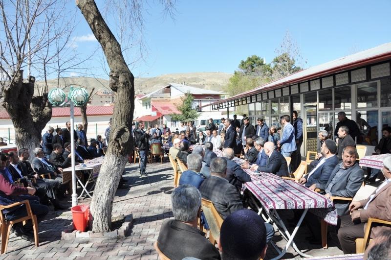 ETSO Başkanı İdris Alan Destek Turu İçin Karakoçan Palu Kovancılar`a Geldi