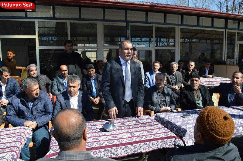 ETSO Başkanı İdris Alan Palulu Hemşehrilerinden Destek İstedi