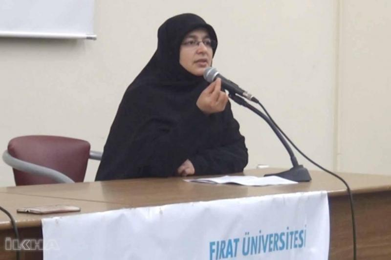 Fırat Üniversiteside tesettürün kadına kazandırdığı değer etkinliği düzenlendi