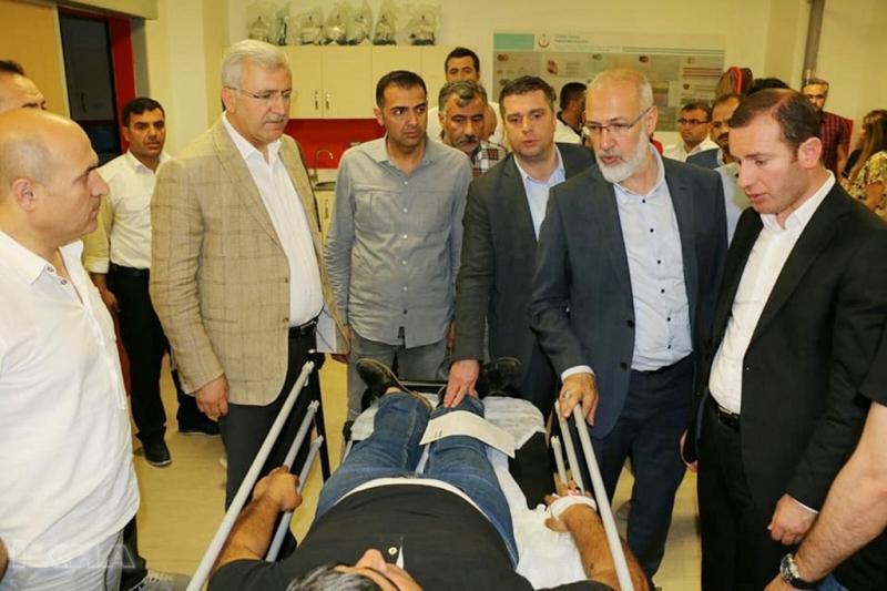 HDP/PKK`lılar AK Partililere saldırdı: 3 yaralı