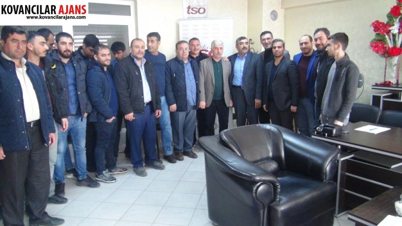 Kovancılar`da ETSO ve KİAD İşbirliği İle KOSGEB Kursu Başladı
