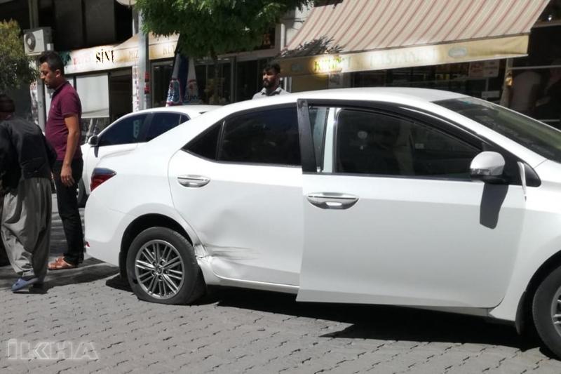 Kovancılar'da maddi hasarlı trafik kazası