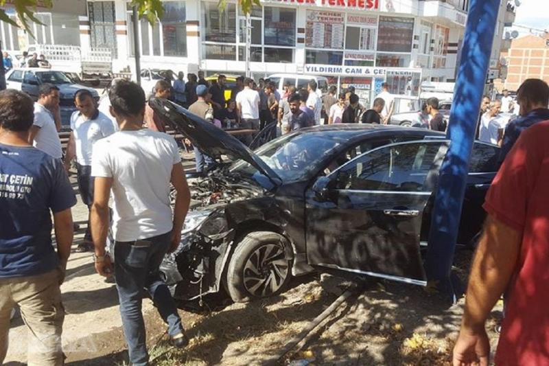 Kovancılar'da trafik kazası: Bir yaralı