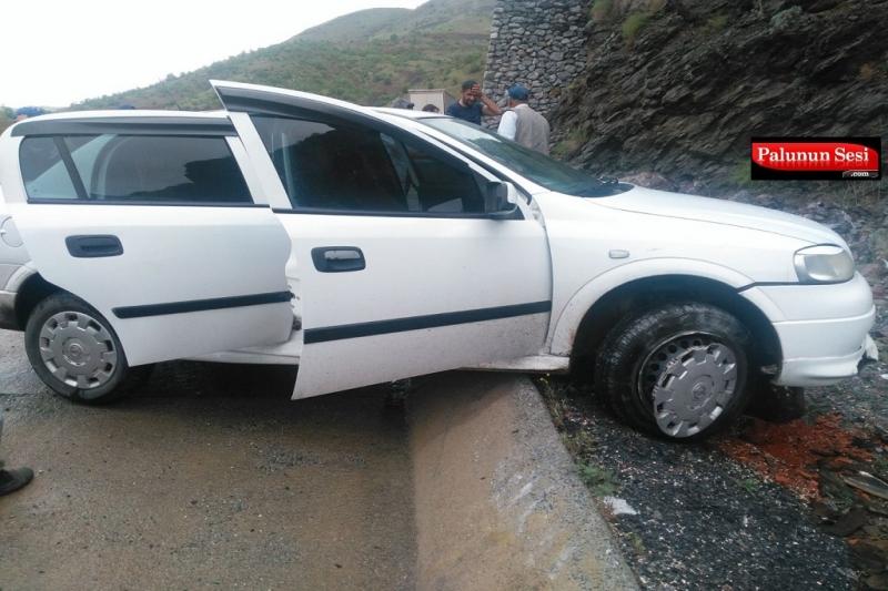 Maden `de Maddi Hasarlı Kaza