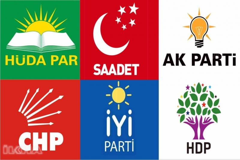 Milletvekili aday listeleri YSK'ya teslim edildi (TÜM PARTİLERİN TAM ADAY LİSTESİ)