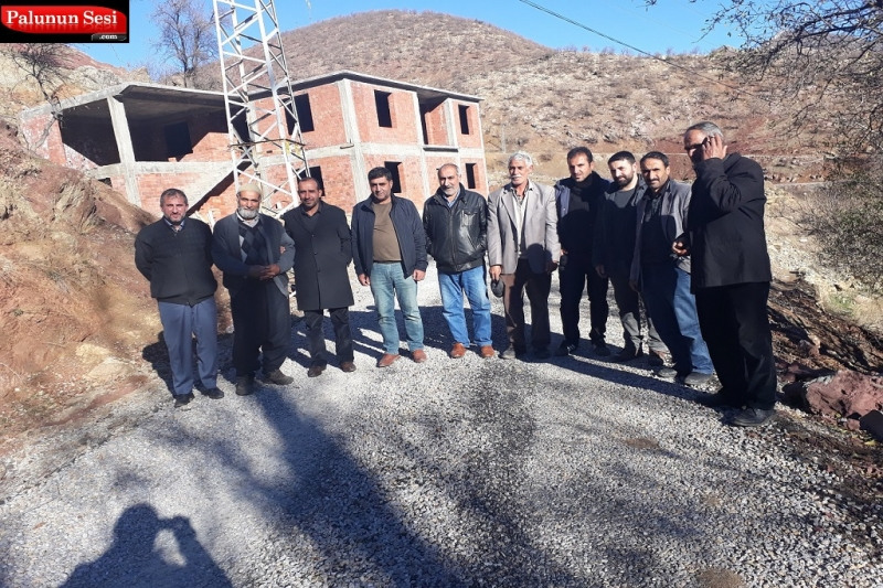 Palu Hüda Par Köy Ziyaretlerinde Halkla Buluştu