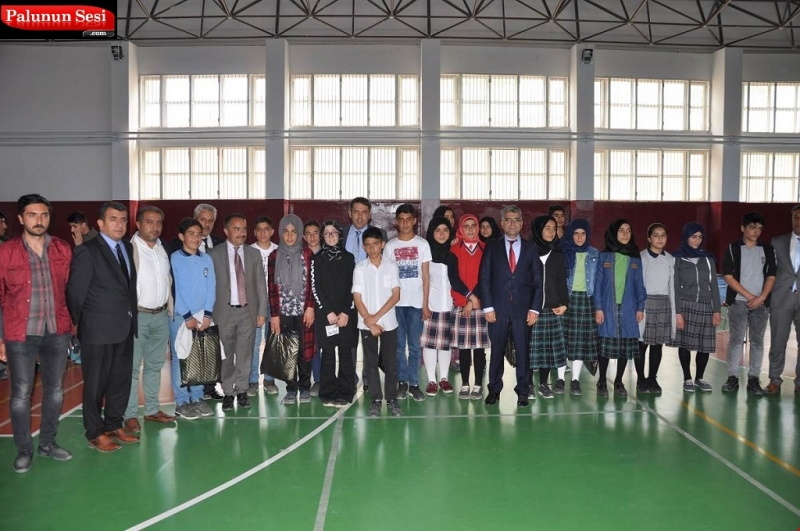 Palu Tügva Öğrenciler Arası Bilgi Yarışması Düzenlendi