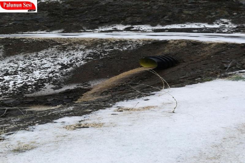 Palu`da 3 Dakikalık Dolu Her Yanı Beyaza Bürüdü Yolları Kapattı Seller Aktı