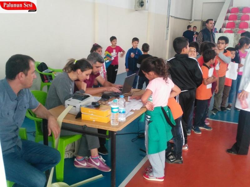 Palu`da 3 . Sınıflar Türkiye Sportif Yetenek Taramasından Geçti