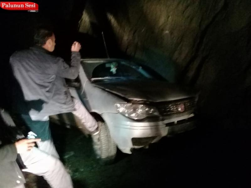 Palu`da Trafik Kazası