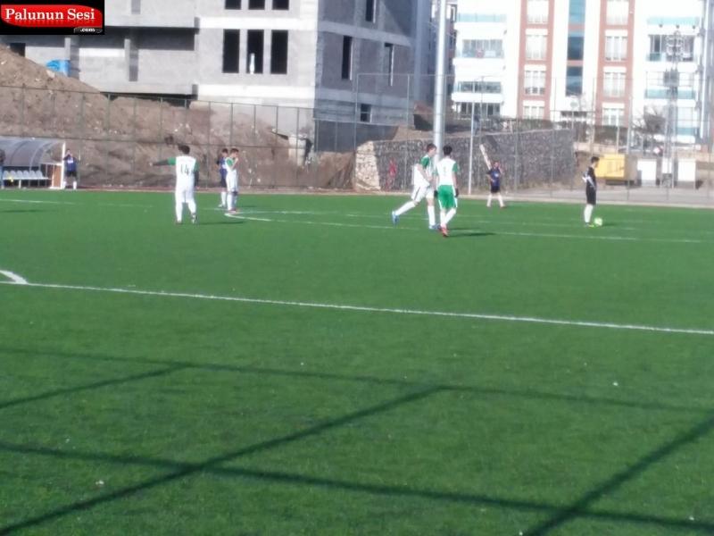 Paluspor`un Gençlerinden Müthiş Maç