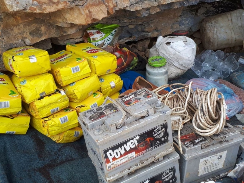 Pülümür `de 9 Odalı PKK`ya ait Sığınak Bulundu