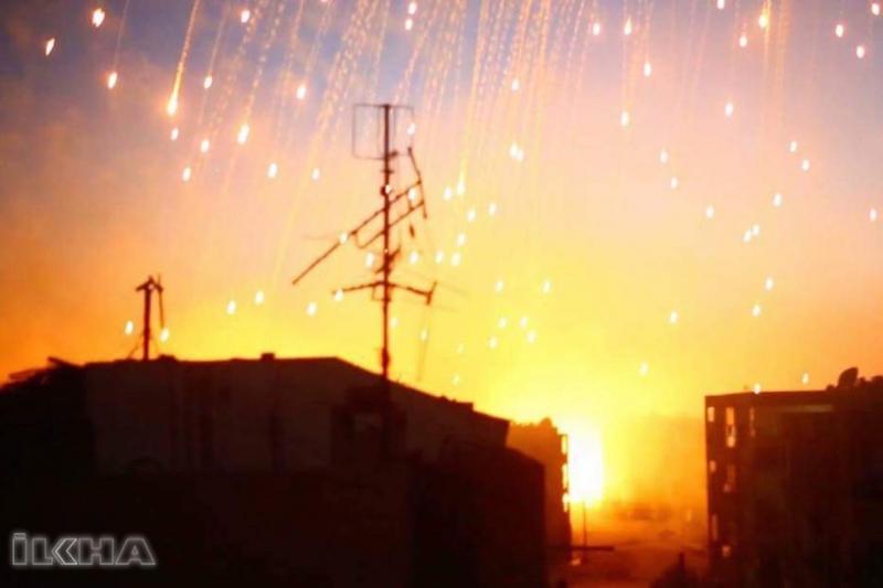 Rusya: ABD Suriye'yi fosfor bombalarıyla vurdu