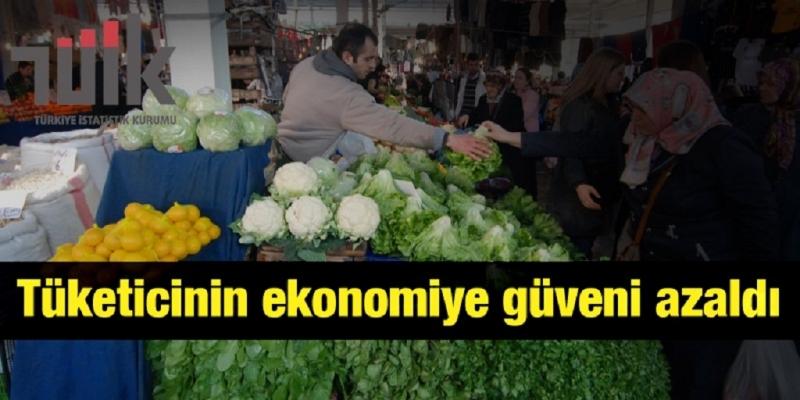 Tüketicinin Ekonomiye Güveni Azaldı
