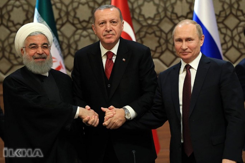 Türkiye-Rusya-İran'dan Suriye konulu ortak açıklama