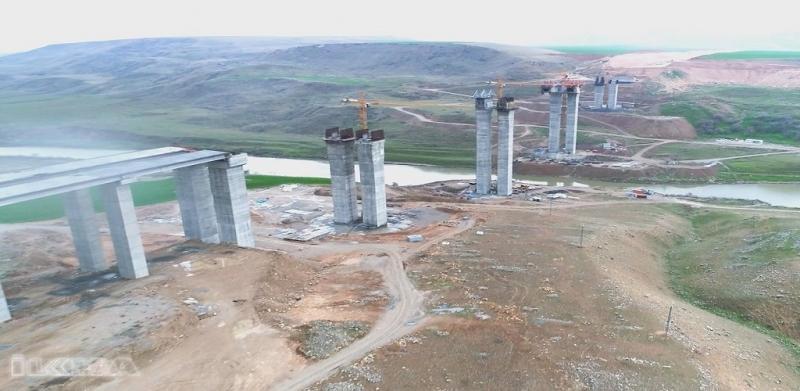 Türkiye'nin 4'üncü büyük köprüsü Hasankeyf'te yapılıyor