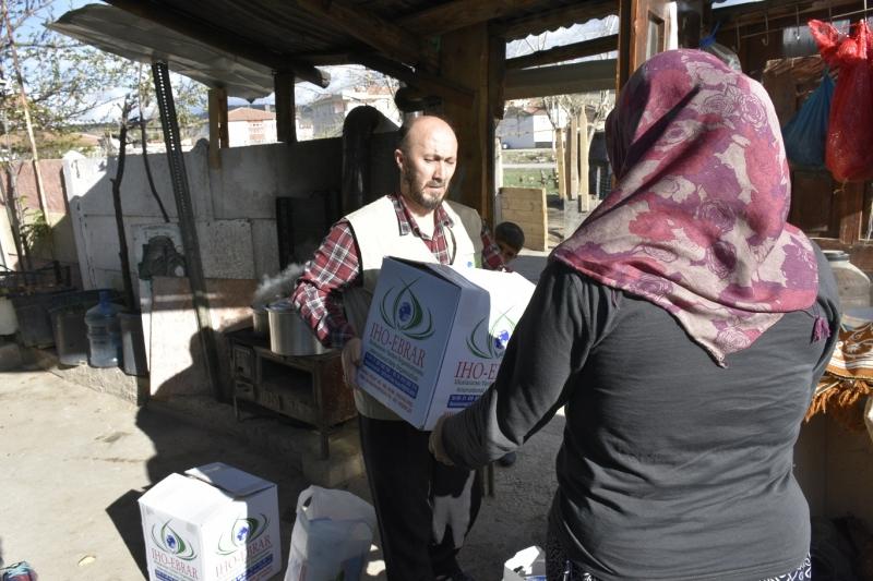 Uluslararası Yardım Kuruluşu IHO-EBRAR Elazığ Siirt ve İstanbul`da Yardım Dağıttı