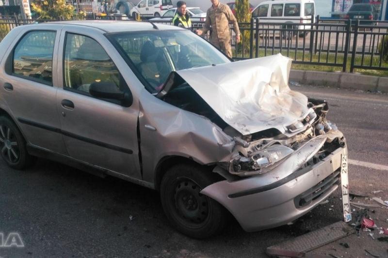 Yazıkonak`ta trafik kazası: 2 yaralı