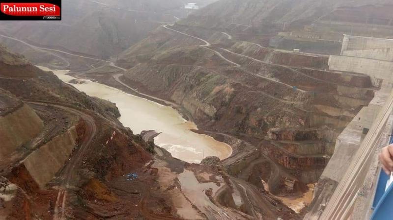Yukarı Kaleköy Barajında su tutulmaya başlandı